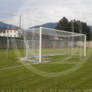 Porte calcio regolamentari 7,32x2,44 m con palo staccato ARTISPORT