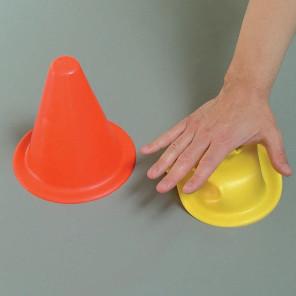 Birillo calpestabile termoplastico h 18 cm per allenamenti calcio BARRET