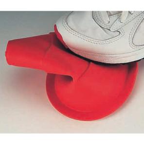 Birillo calpestabile termoplastico h 15 cm per allenamenti calcio BARRET