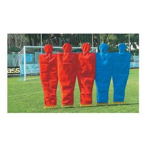 Rivestimento per sagoma h 160 cm Rossa in nylon impermeabile con cerniera