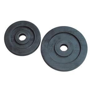 Dischi in ghisa gommati con foro diametro 25 mm