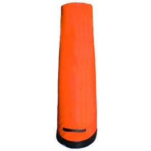 Sagoma allenamenti Calcio BARRET Blu in gommapiuma h 170 cm zavorrata alla base