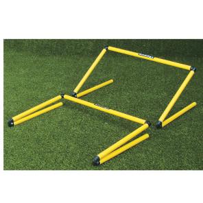 Ostacolo richiudibile con altezza regolabile da 10 a 60 cm per allenamenti calcio BARRET