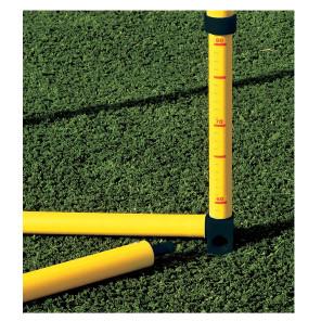 Ostacolo telescopico graduato con altezza regolabile da 60 a 100 cm per allenamenti calcio BARRET