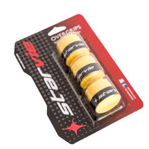 Overgrip per Racchette da Padel Tennis Set da 3 pz gialli