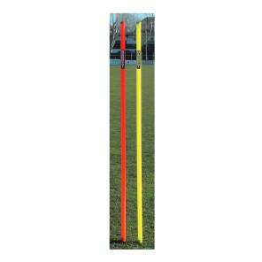 Paletto slalom con puntale per allenamenti calcio BARRET 007F h 163 cm
