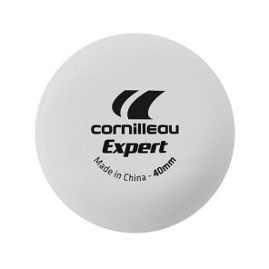 6 Palline da Ping-Pong bianche 2 stelle CORNILLEAU Expert