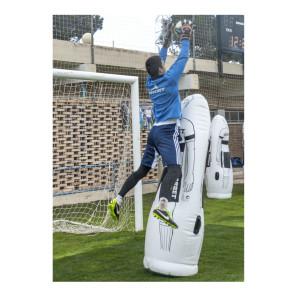 Sagoma allenamenti Calcio BARRET gonfiabile Bianca h 205 cm con base da riempire con acqua