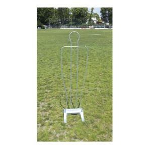 Sagoma allenamenti Calcio BARRET in acciaio zincato h 180 cm
